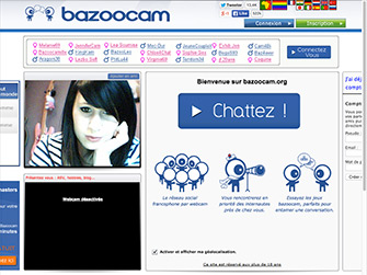 Bazoocam is a site like Camzap, Omegle, Bazoocam and a Chatroulette alternative.